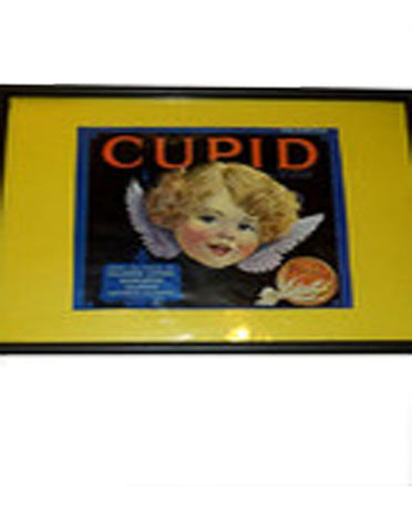 Sunkist Valencias Cupid Poster - The Other Alley