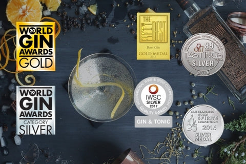 Conniption American Dry Awards, Gold at the 2020 World Gin Awards