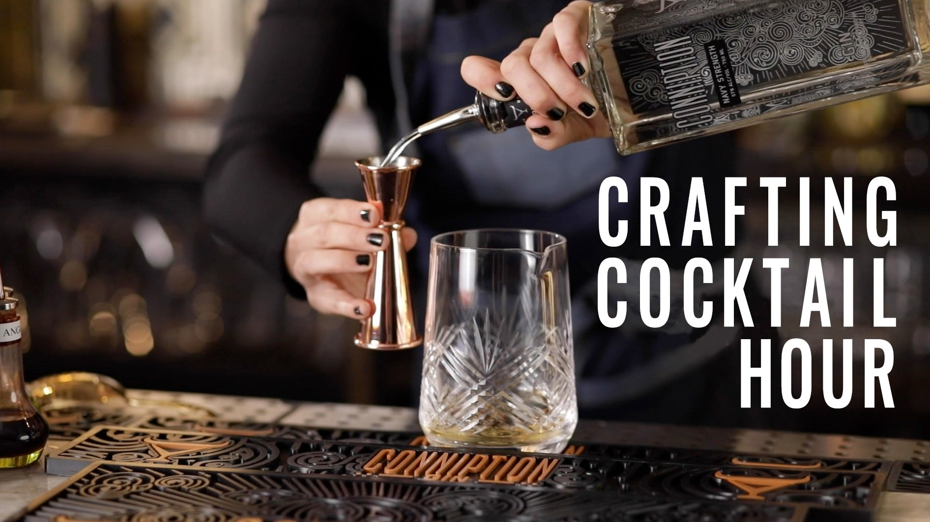 Crafting Cocktail Hour - Cocktail Clas