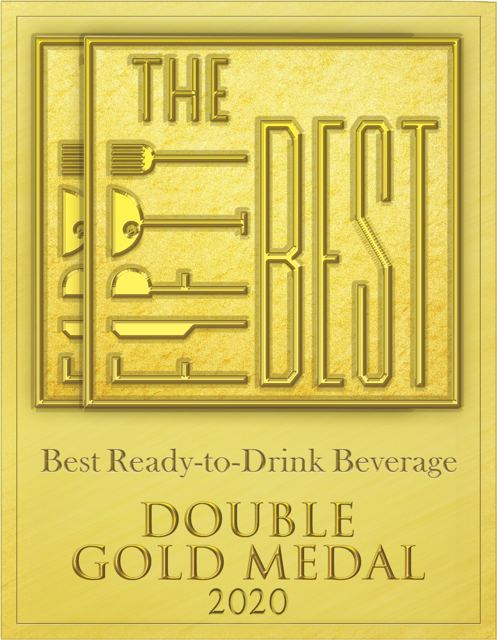 The Fifty Best Double Gold award