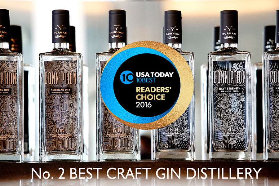 No. 2 Craft Gin Distillery in the U.S.