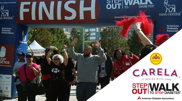 CARELA Co-Sponsors STEP OUT: WALK TO STOP DIABETES by the American Diabetes Association in New York City
