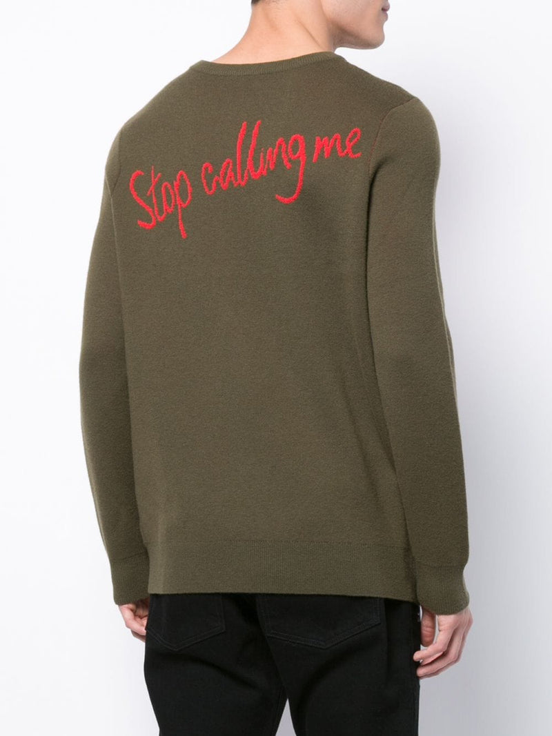 STOP CALLING ME SWEATER