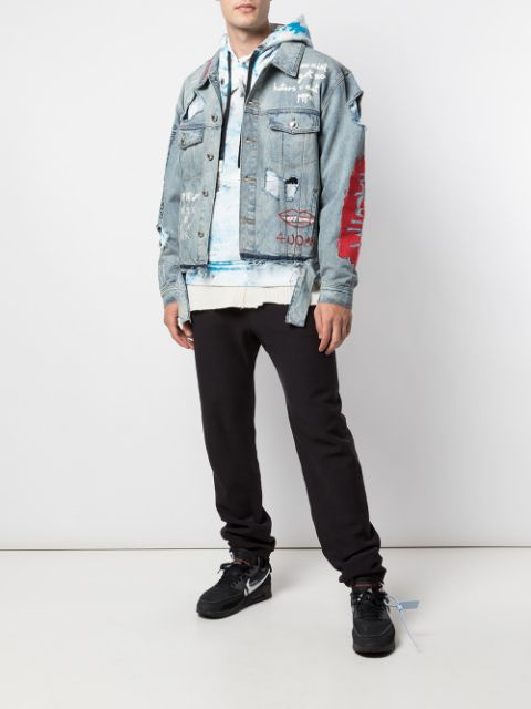 RESPONSIBLE FOR NOTHING DENIM JACKET