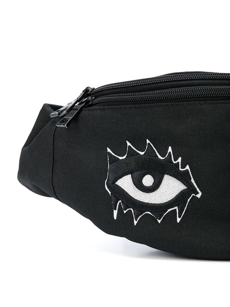SIGNATURE EYES FANNY PACK BLACK