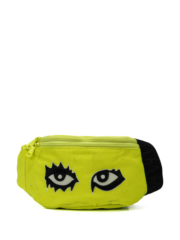 SIGNATURE EYES FANNY PACK LIME YELLOW