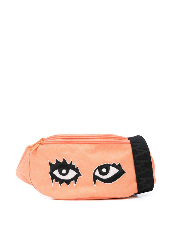 SIGNATURE EYES FANNY PACK CORAL