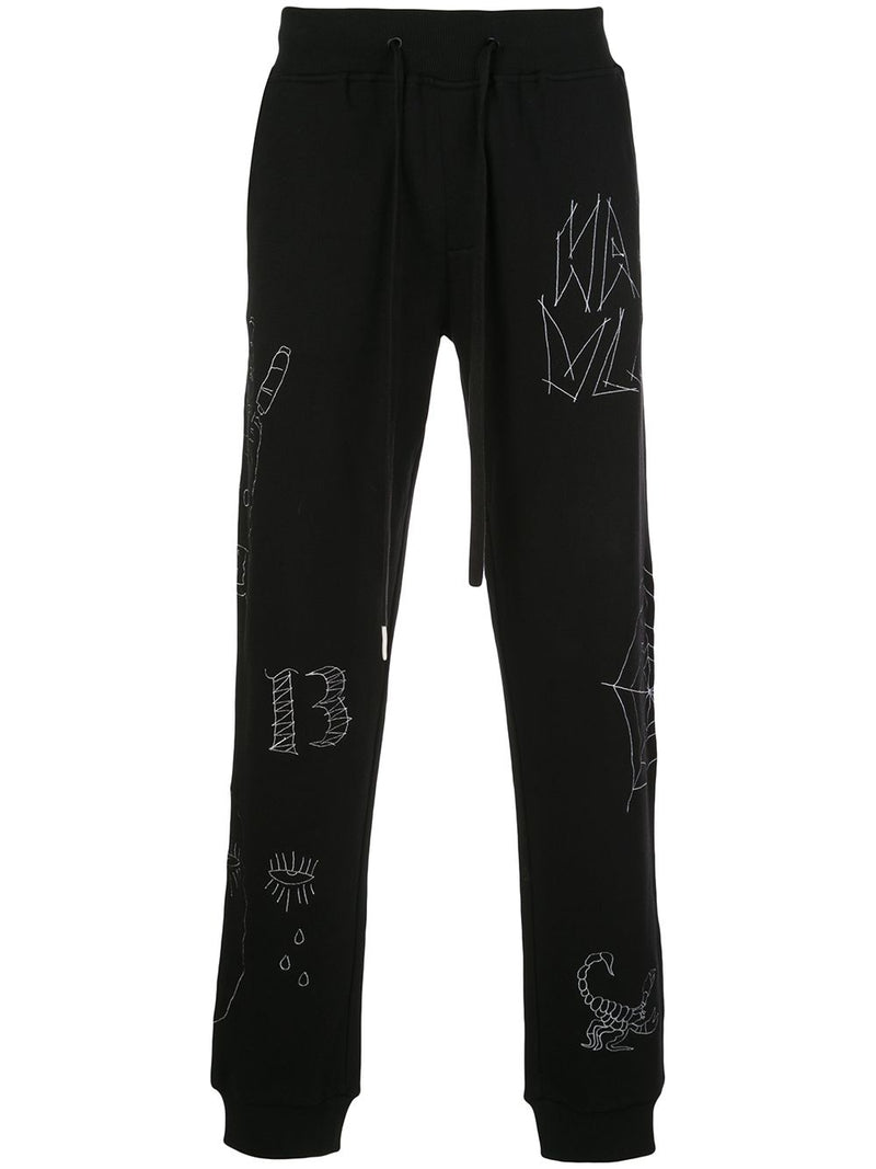 WEBBED UP JOGGER BLACK