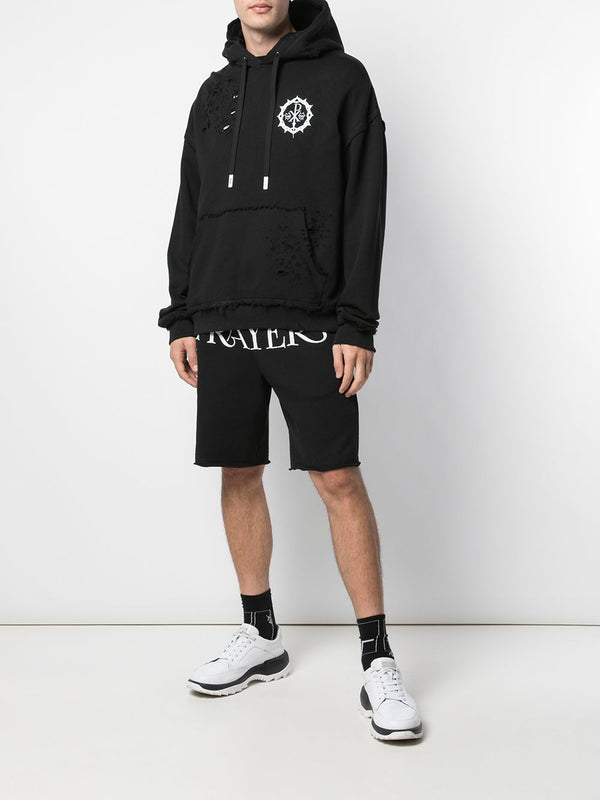 PRAYERS X HACULLA KNIT SHORT OFF-WHITE