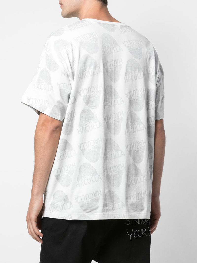 WATCHING YOU DROP SHOULDER TEE OFF-WHITE