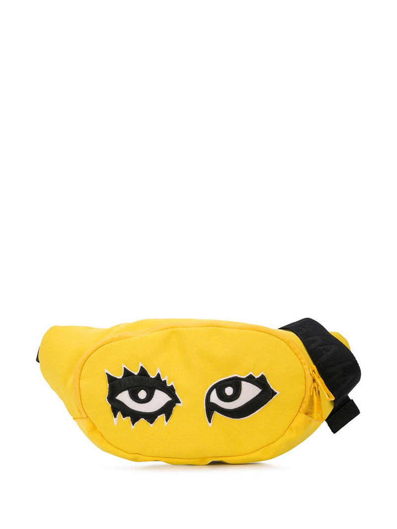 SIGNATURE EYES FANNY PACK YELLOW