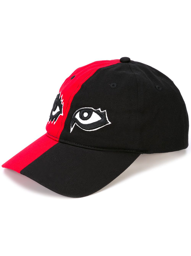 SIGNATURE EYES DAD HAT BLACK/ RED