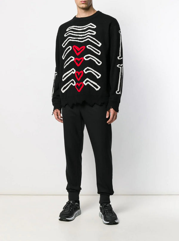 MY INSIDES SWEATER BLACK