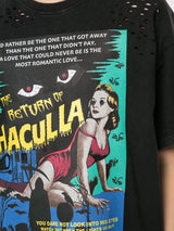 RETURN OF HACULLA VINTAGE TEE BLACK