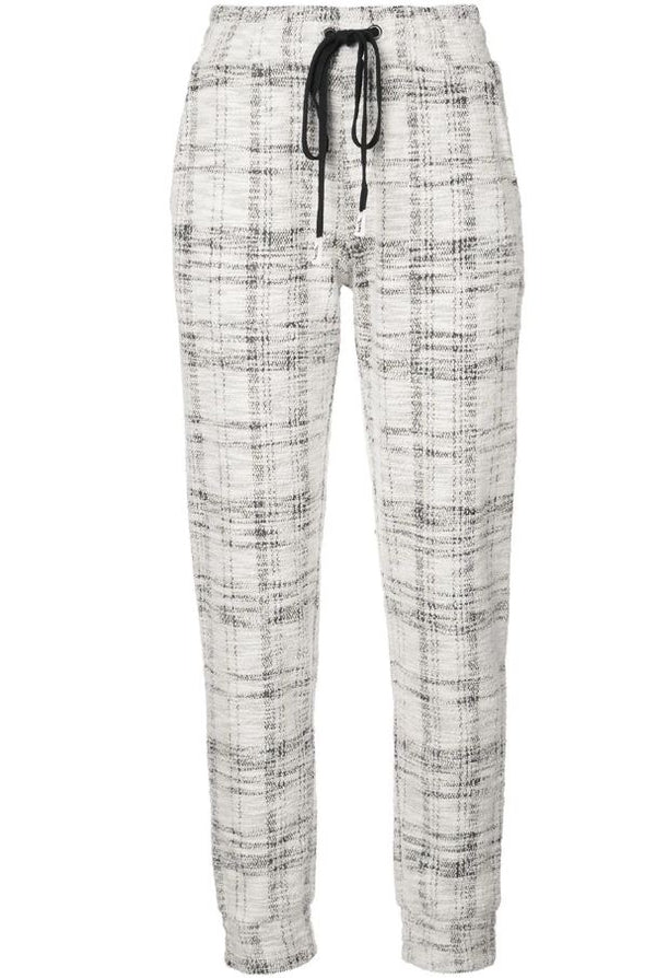 SIGNATURE EYES JOGGER WHITE TWEED