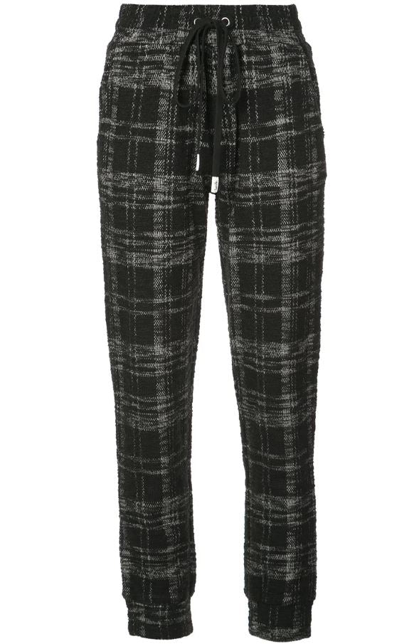 SIGNATURE EYES JOGGER BLACK TWEED