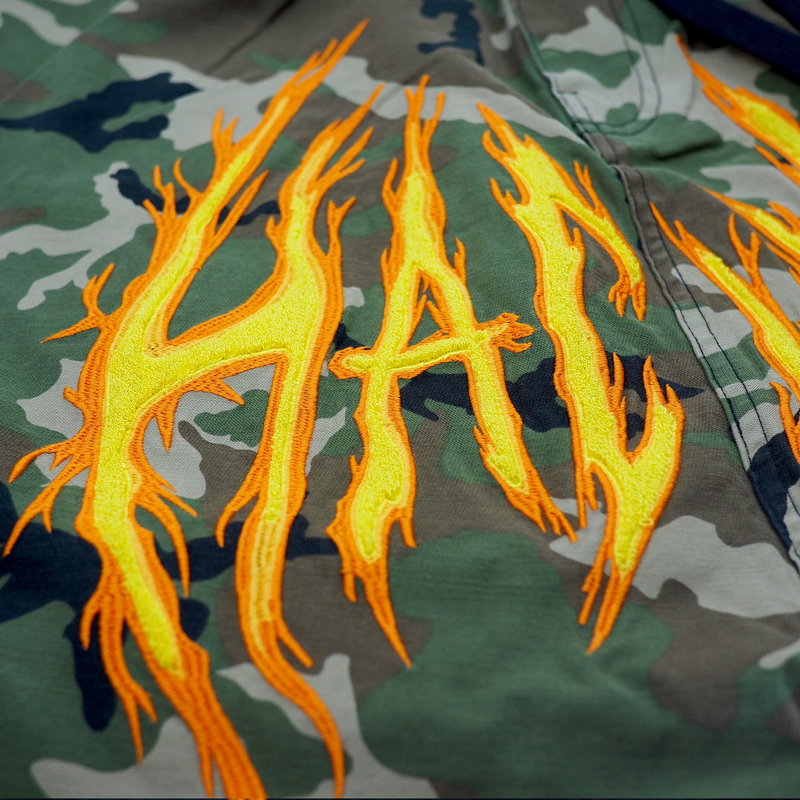 HAC ON FIRE JOGGER CAMO