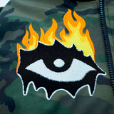 EYES ON FIRE JACKET CAMO