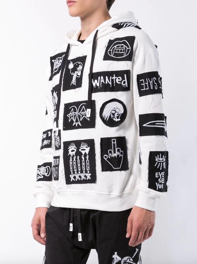 STABAT PATCH HOODIE