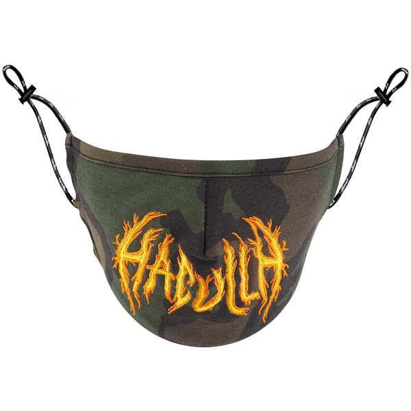 HAC ON FIRE MASK CAMO