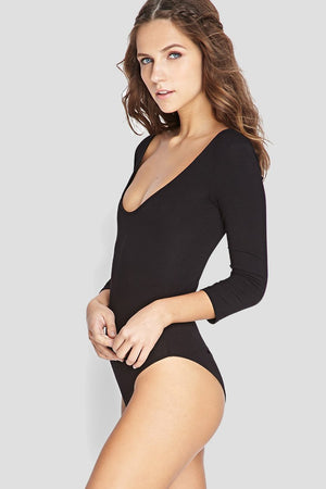 Scoop Neck Bodysuit