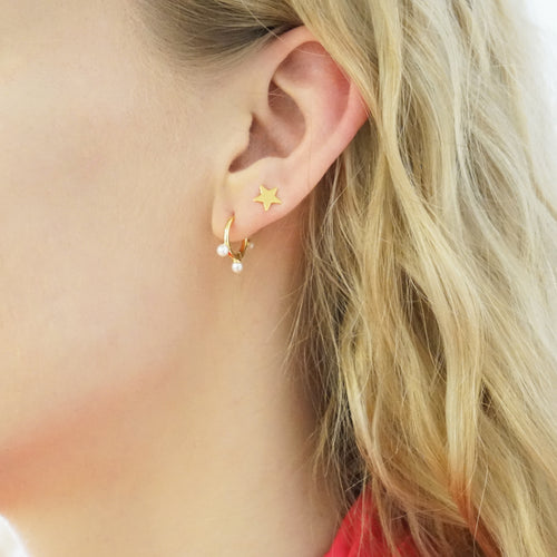 Stud Earrings Star