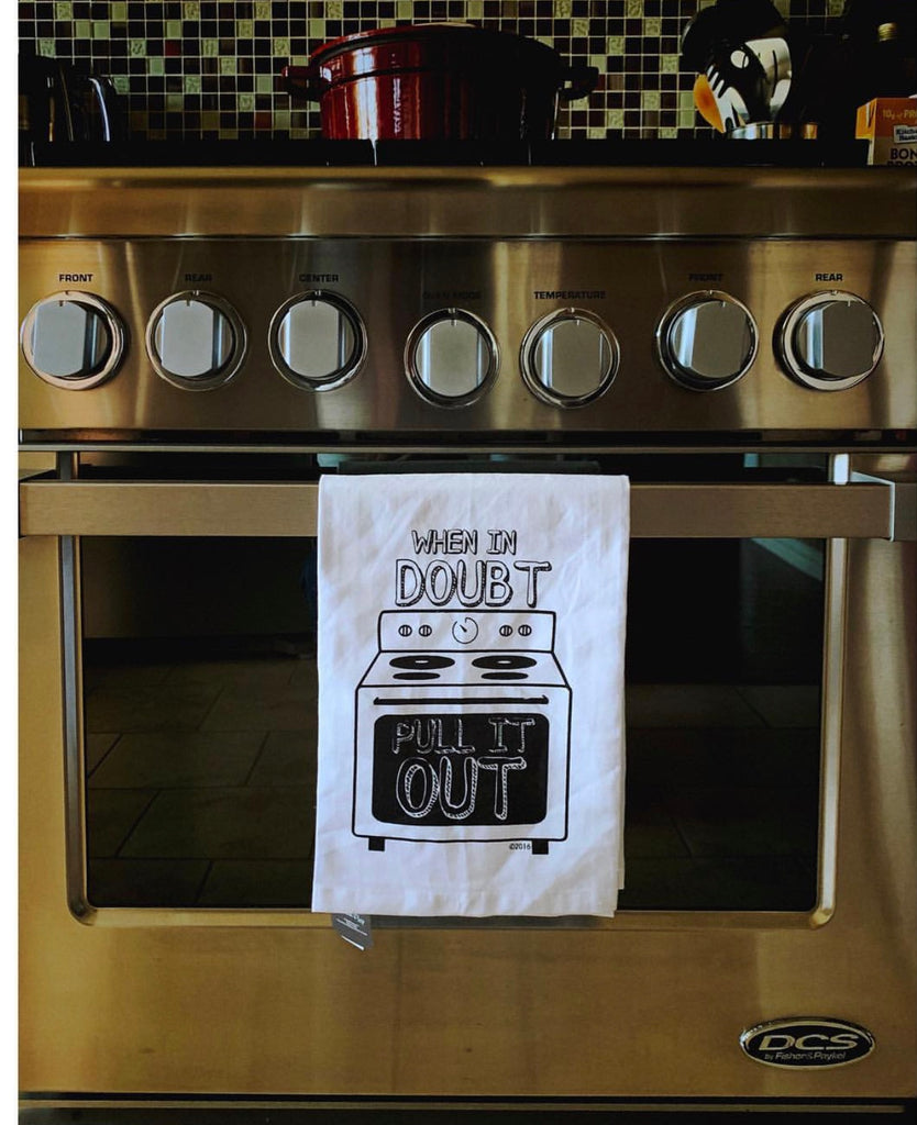 TWISTED WARES Kitchen Hang Tight Tea Towel