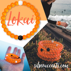 LOKAI Limited Edition ORANGE Bracelet