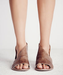 FREE PEOPLE Distressed MONT BLANC Cutout Sandal Shoe