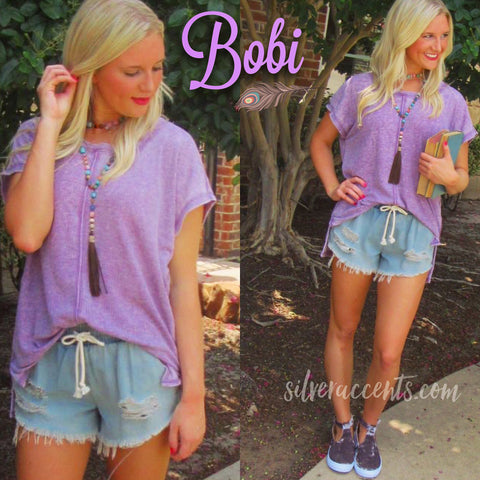 BOBI Supersoft WaffleKnit TEMPLETON HiLo Top