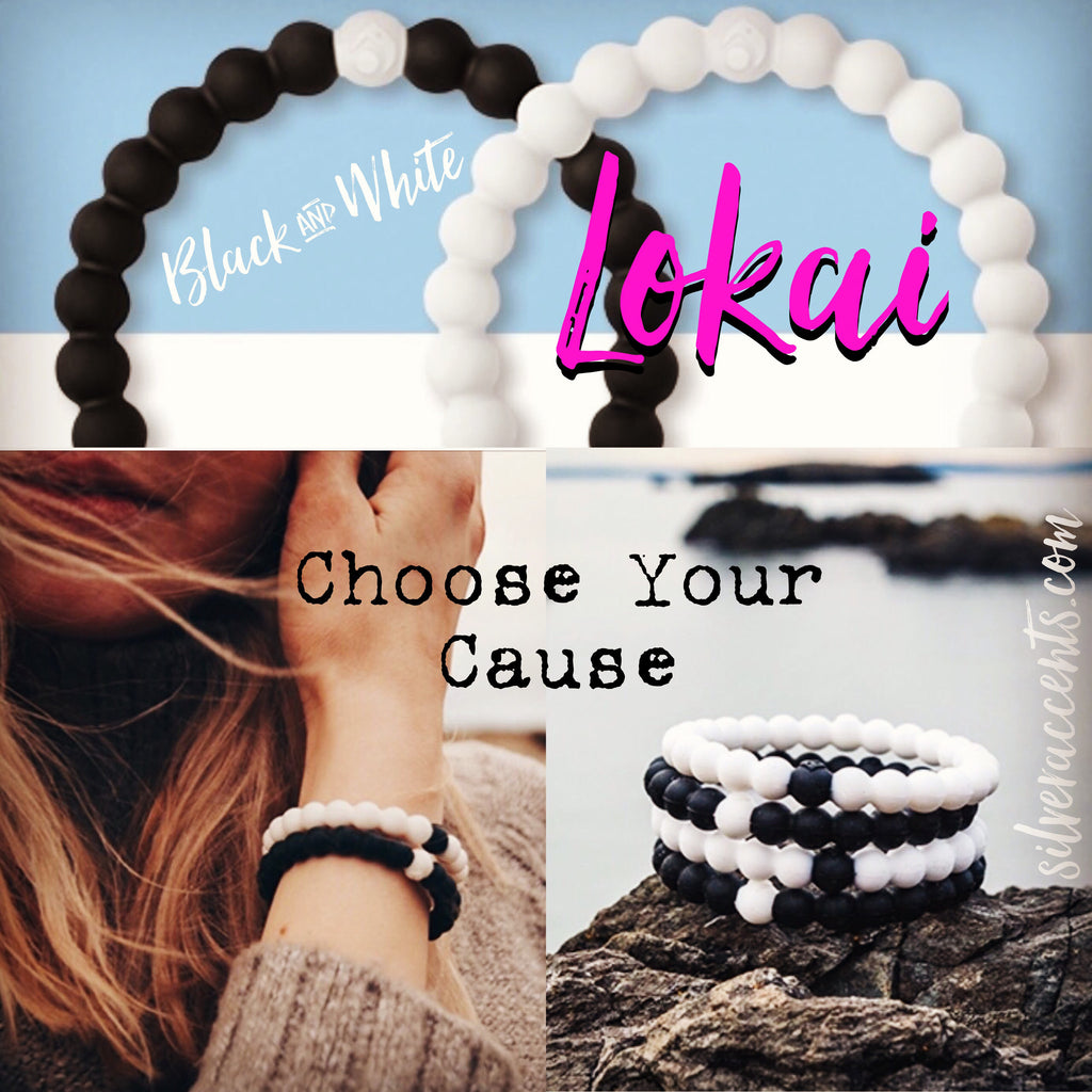 BLACK & WHITE Limited Edition LOKAI Bracelet Set
