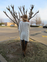 REMEDY CableKnit Slouchy Sweater Top