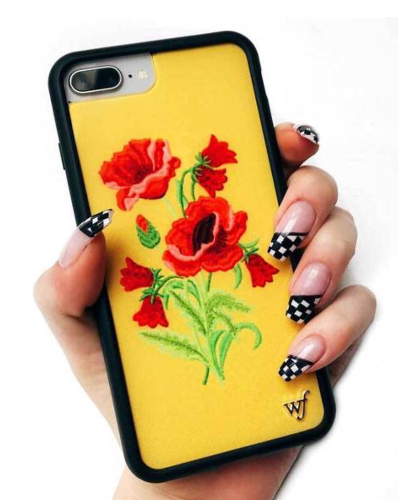WILDFLOWER Yellow Floral I-Phone Case