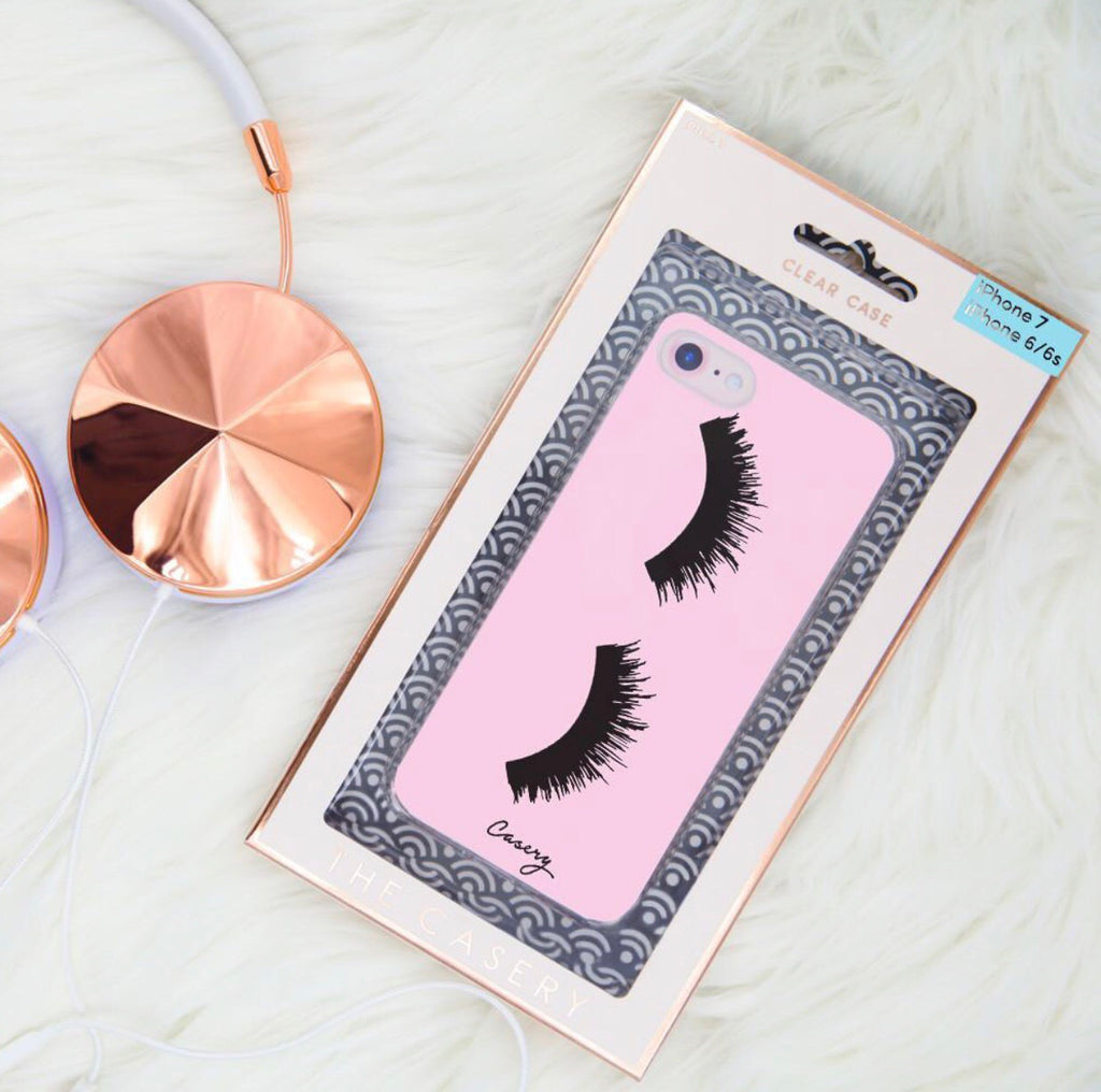 THE CASERY Lashes Phone Case