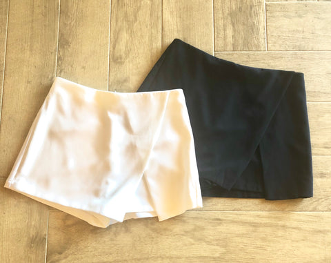 QUAKE Wrap Envelope Mini Skort