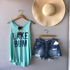 LAKE BUM Graphic Tank Top