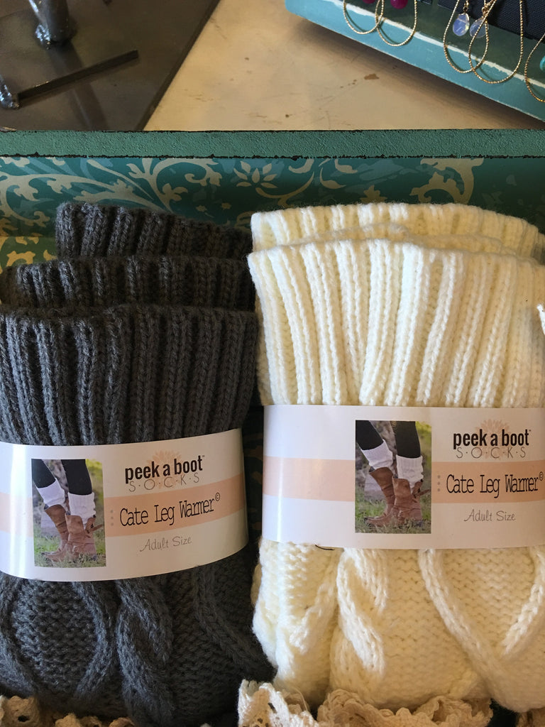 CATE CableKnit Leg Warmers