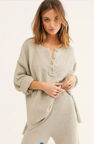 FREE PEOPLE 2 Piece HAILEE SWEATER SET