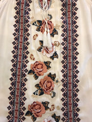 PINNACLE Floral Embroidered Top
