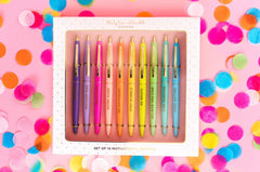 TAYLOR ELLIOTT 10pc Motivational Boxed Pen Set