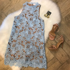 KAPPA Crochet Lace Sleeveless Dress