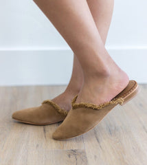 FREE PEOPLE Leather Fringe NEWPORT Flat Shoes