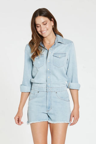 DEAR JOHN Long~Sleeve LOGAN Romper