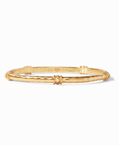 JULIE VOS Gold SAVANNAH Stone Bangle Bracelet