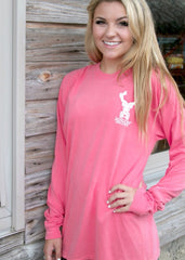 JADELYNN BROOKE Comfort Colors SWEET TEA Top