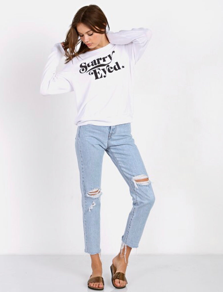 WILDFOX Couture STARRY EYED Sweatshirt