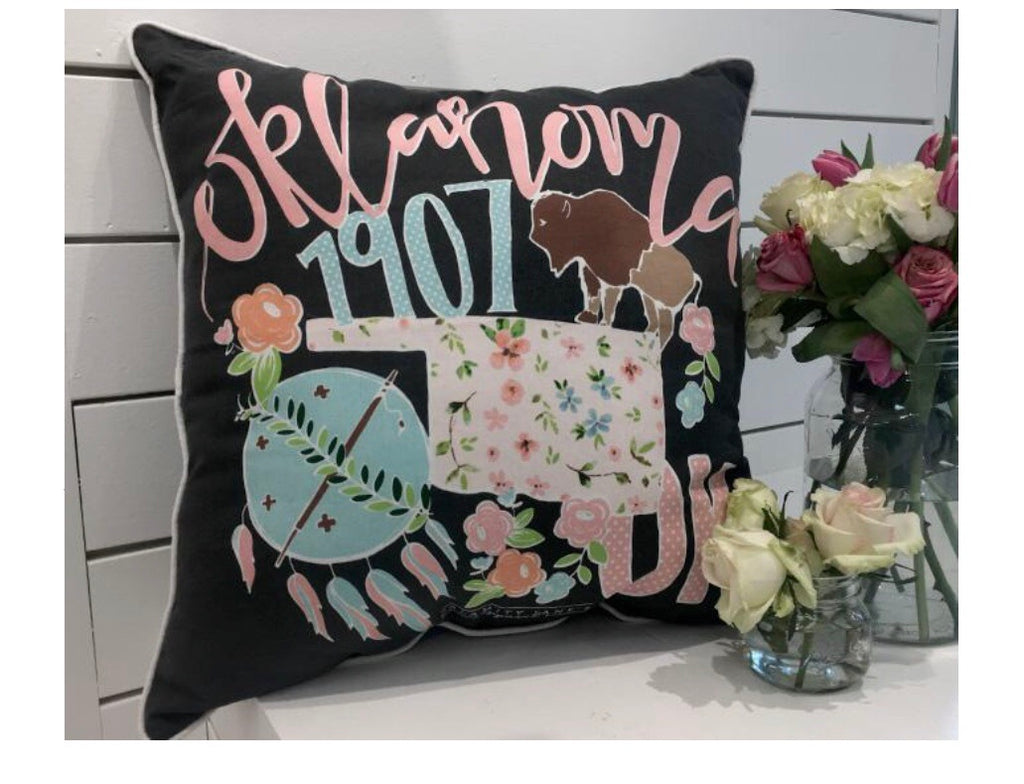 OKLAHOMA 2018 Storyboard Pillow