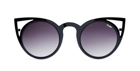 QUAY AUSTRALIA Black/ Smoke INVADER Sunglasses