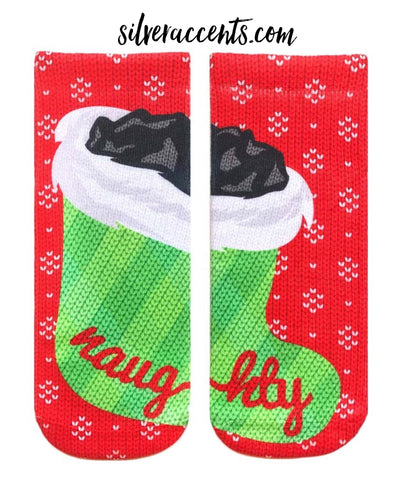 LIVING ROYAL Supersoft NAUGHTY LIST Ankle Socks