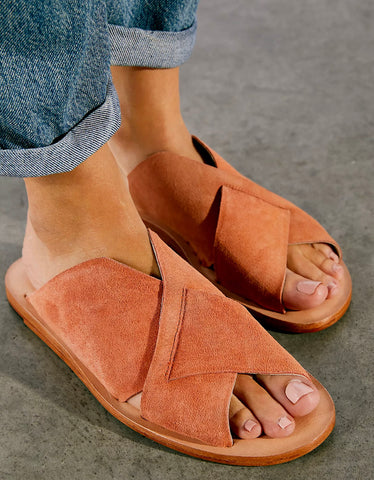 FREE PEOPLE Slip On EMILIA Suede Sandals